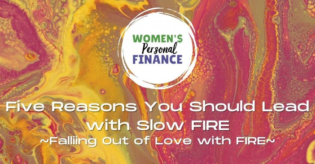 why you should leave with slow fire